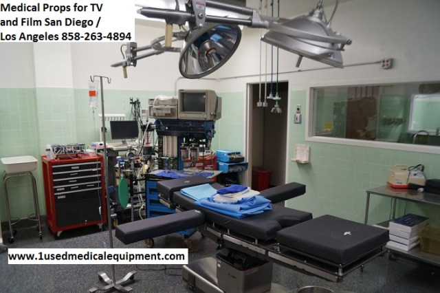 Medical equipment hospital equipment props for TV and Film