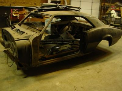 Purchase used Legit 1968 RS/SS Camaro Convertible. Rare needs complete restoration. 396 in ...