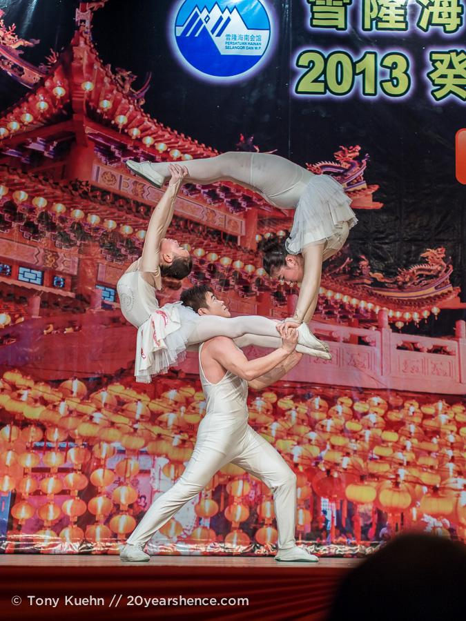 Magic show, Thean Hou Temple, Kuala Lumpur