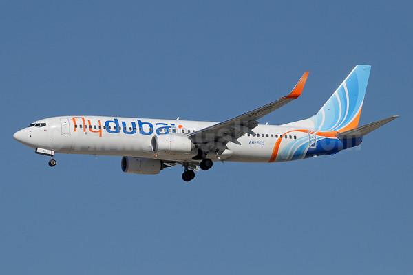 Flydubai 737-800 WL A6-FED (09)(Apr) DXB (PDN)(46)-M