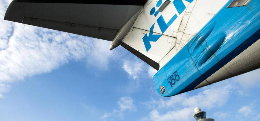 A KLM aircraft is pictured at the Schiphol airport on October 16, 2014. KLM Royal Dutch Airlines have named Pieter Elbers, 44 , as KLM's newchief executive and president, to replace Camiel Eurlings whose term was due to end next April.    AFP PHOTO / ANP / REMKO DE WAAL netherlands out        (Photo credit should read REMKO DE WAAL/AFP/Getty Images)