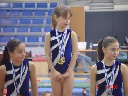 בנות הקבוצה זוכות במקומות הראשונים באחת התחרויות האזוריות השנה