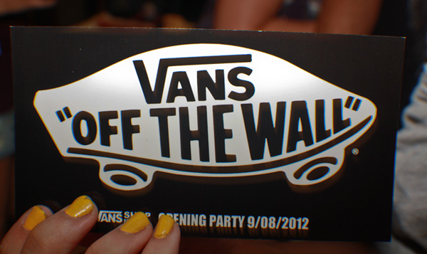 Opening Party Vans Málaga