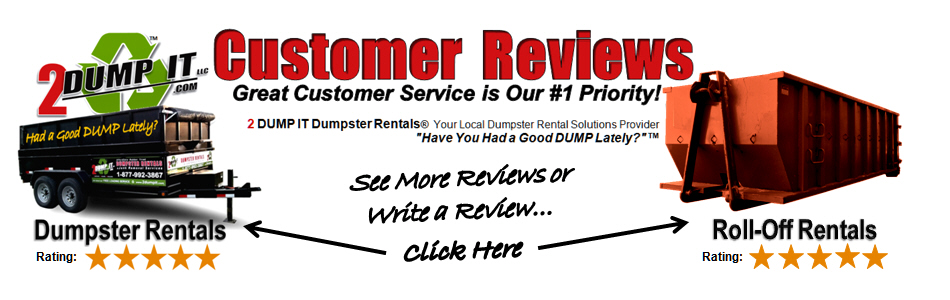 2 DUMP IT Customer Reviews