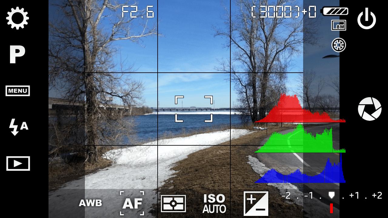 التطبيق الاحترافى (Camera FV-5 2014,2015 05-CameraFV5-UI.png