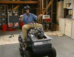 Tim The Tool Man Taylor's Mower