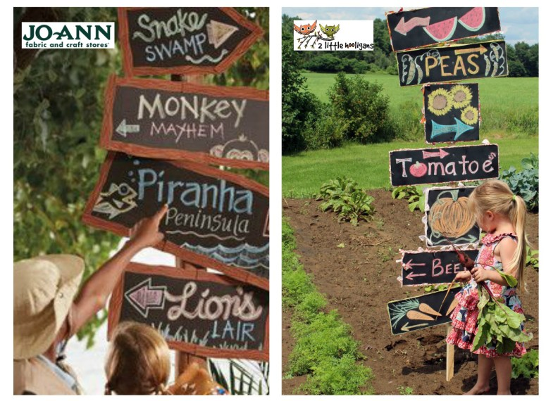 Summer of Jo-Ann Chalkboard Signs