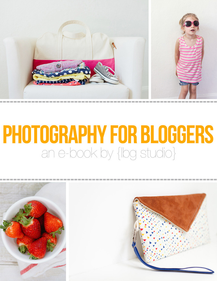 lbg studio e-book Photography for bloggers giveaway