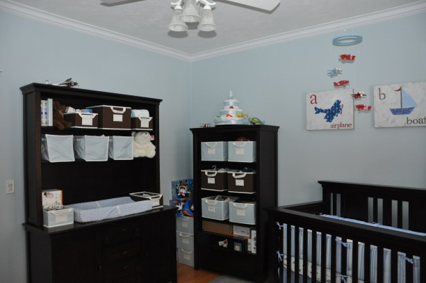 airplane themed nursery