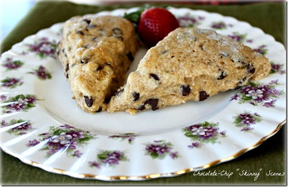 Chocolate-Chip Skinny Scones