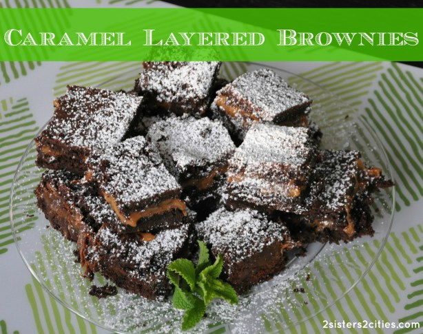 Caramel Layered Brownies