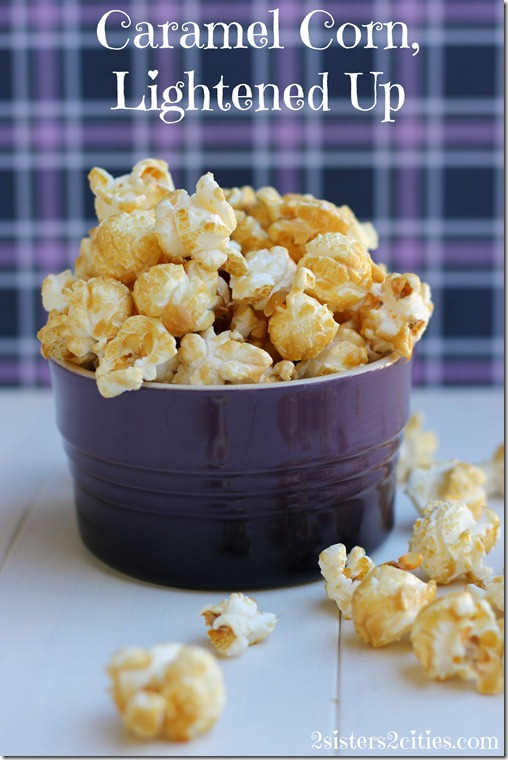 Caramel Corn, Lightened Up