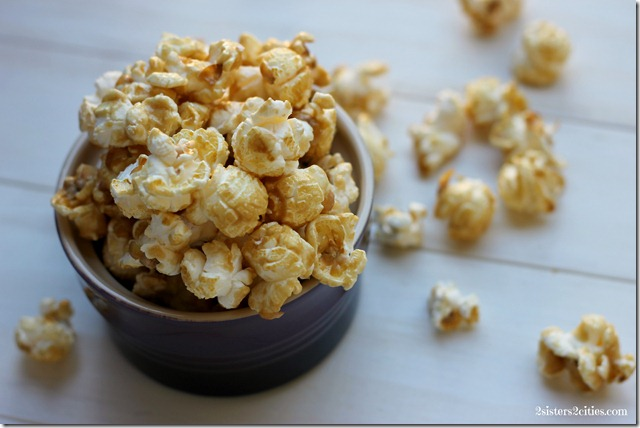 Lighter Version of Caramel Corn