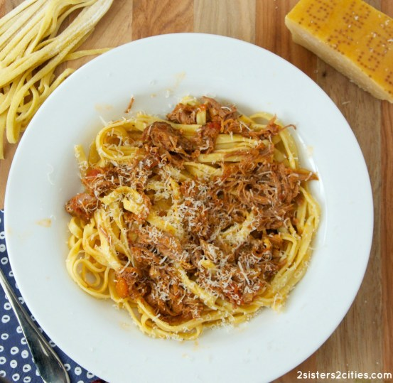 Slow Cooker Pork Ragu with Fresh Pasta