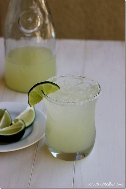 Lime Margaritas