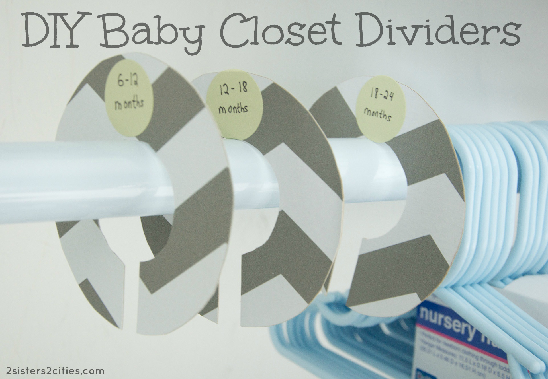 Baby clothes size dividers diy sweepstakes