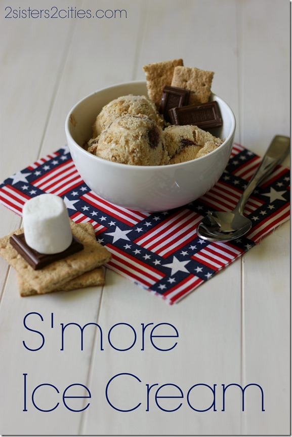 S'more Ice Cream for Dessert
