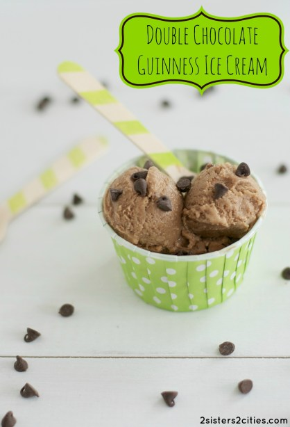 Double Chocolate Guinness Ice Cream