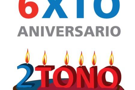 6xto aniversario 2tono