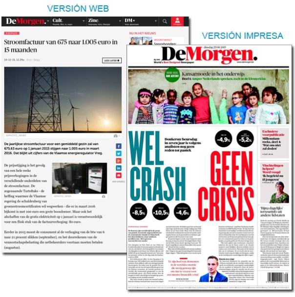 Periódico De Morgen - Bélgica