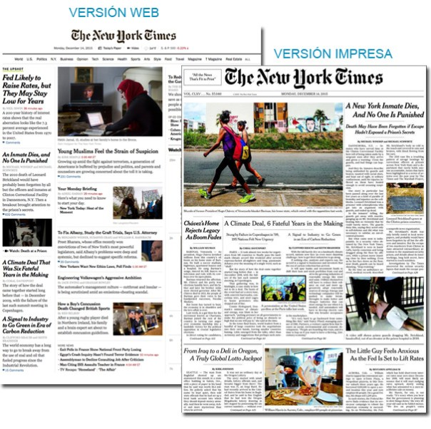 Periódico New York Times - USA