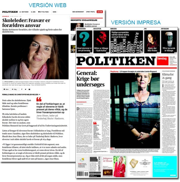 Periódico Politiken - Dinamarca