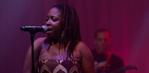 Chiwoniso Maraire @ Ottawa Bluesfest 2010 - PIC: Scott Penner