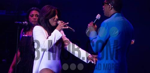 Toni Braxton and Babyface live in Harare PIC: 3-mob.com/Rebel TV