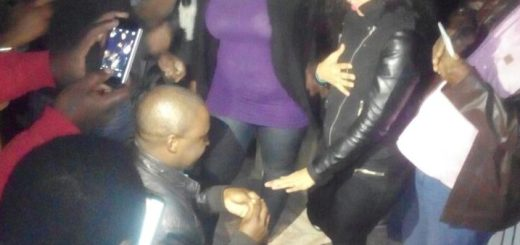 The moment Babongile popped the question
