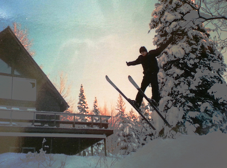 pinnacle ski jump