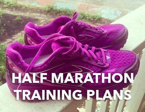 Half Marathon Training Plans