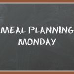 Meal Planning Monday 10/3/16