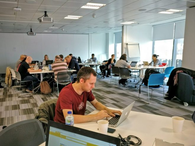 A calmer second day, contributor day at WordCamp Manchester 2016