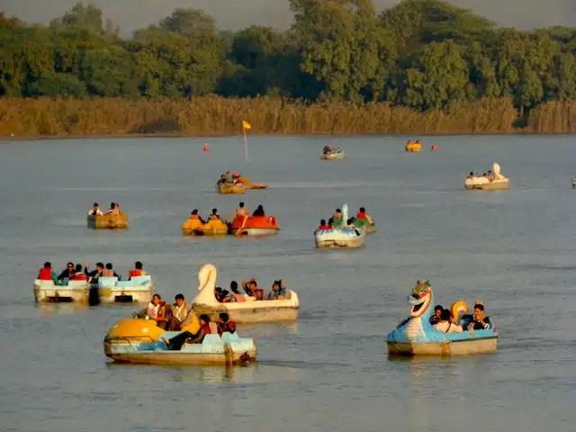 Lago-em-Chandigarh