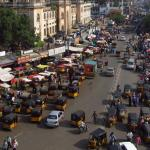 O inacreditável trânsito indiano