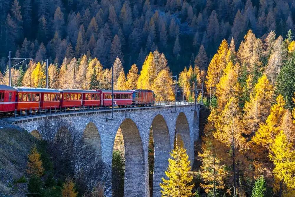 5 Roteiros de viagem de Trem na Europa