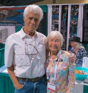 Pictured: William McDonald and Scuba Show honored guest Dottie Frazier