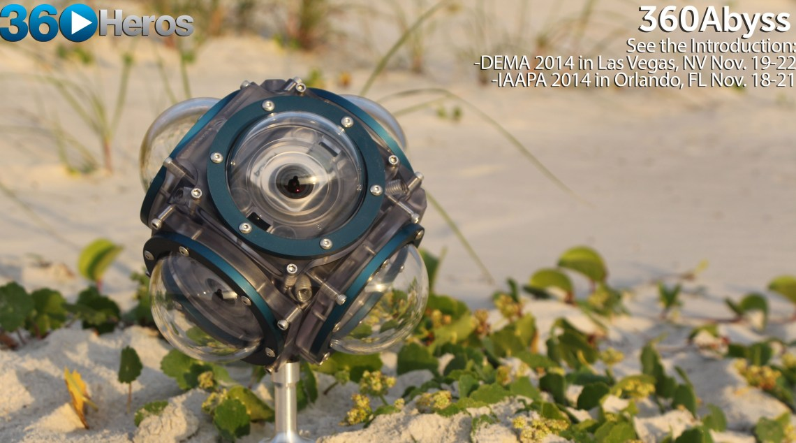 The 360Heros 360Abyss can capture underwater 360 video at a depth of 1,000 meters.