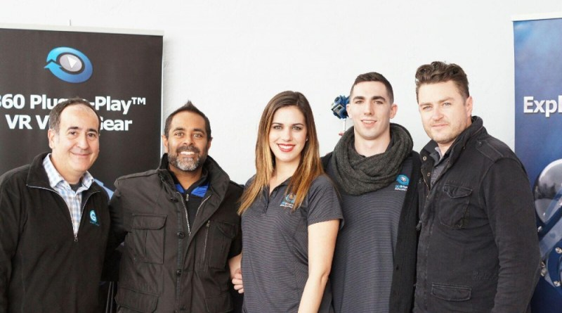 The 360Heros and G-Technology teams at the 2016 Sundance Film Festival.