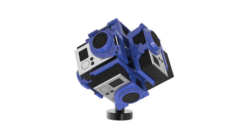 Pro6v2 virtual reality 360° video gear