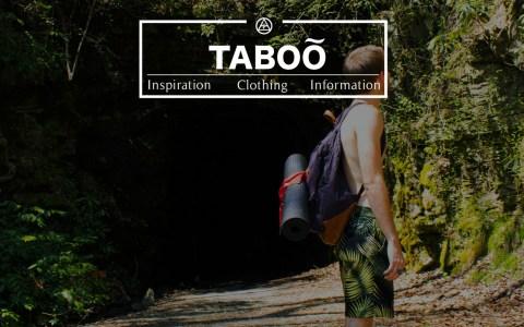 TabooInternational.us - Splash page
