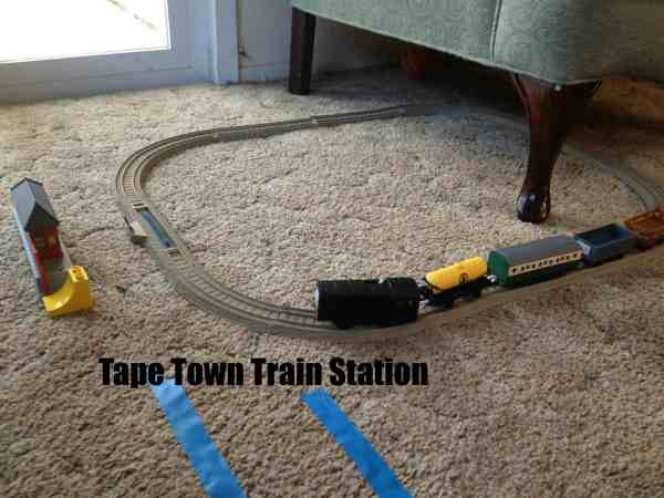 Tape town train station
