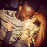 Chelsea FC Star Mikel Obi & Boo Olga Diyachenko Show Off Early Morning Passionate Kiss | Photo