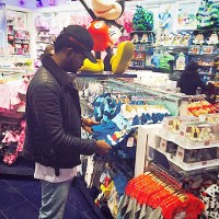 Basketmouth Goes Shopping For Wizkid, Here's What He Bought   Photo