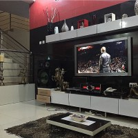 Ballers! Olu Maintain and Peter Okoye Show Off Their Luxury Living Room
