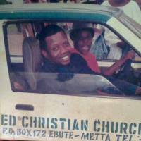 Pastor Mrs Folu Adeboye Driving Her Husband Pastor Adeboye In A Throwback Photo .. PEEK!