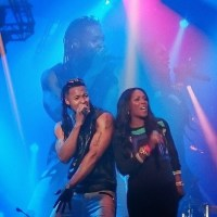 Heavily Pregnant Tiwa Savage Delivers Electrifying Performance Alongside Flavour In London - PHOTOS!