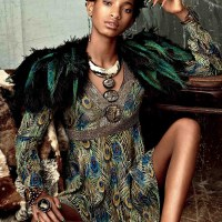 14 Year-Old Willow Smith Debuts 'Dreads Hairstyle' As She Models For Tom Ford Kenzo & Pucci In CR Fashion Book...PHOTOS!