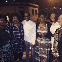 Korede Bello Chills With Don Jazzy's Mum.... And They Both Rocked The Same Hairstyle (Photos)