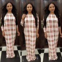 """Mercy Aigbe Steps Out In """"Ghana Must Go"""" Inspired Gown"""